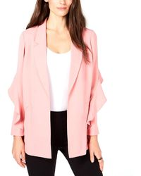 Alfani Womens Jacket Gray Size 1X Plus Button Down Printed Metallic $119 269