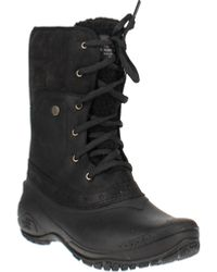 The North Face Shellista Roll-down Winter Boots - Black