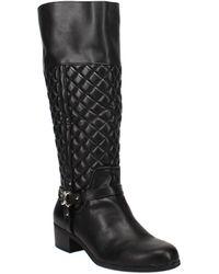 Charter Club Helenn Riding Boots - Black