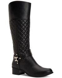 Charter Club Helenn Tall Boots - Black