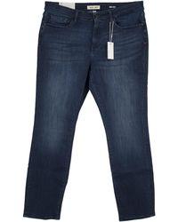 Warp & Weft Oak - Straight Jeans - Blue