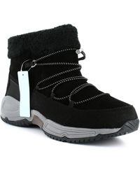 Easy Spirit Voyage Winter Boots - Black