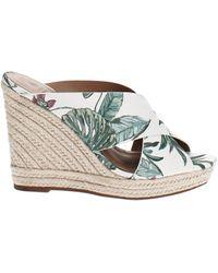 Call It Spring Andrusha Platform Sandals - White