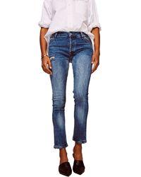 Warp & Weft Cdg - Cigarette Jeans - Blue