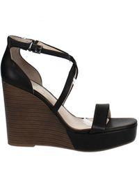 Jessica Simpson Samira Strappy Wedge Sandals - Black