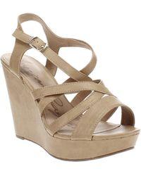 American Rag Arielle Wedge Sandals - Multicolour