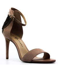 Katy Perry The Alexann Suede Ankle Strap Pump - Brown
