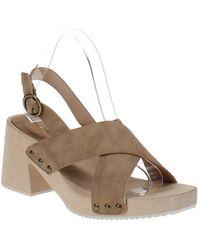 Seven Dials Marina Heeled Sandals - Brown