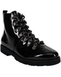 Aerosoles Portville Leather Ankle Boots - Black