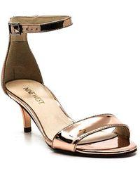 Nine West Leisa Heel Sandals - Pink