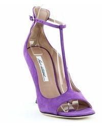 Brian Atwood Samantha High-heel Sandals - Purple