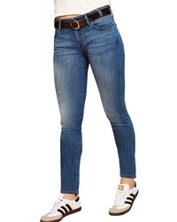 Warp & Weft Jfk - Skinny Jeans - Blue