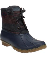 Sperry Top-Sider Top-sider Saltwater Duck Boot - Blue
