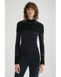 Yigal Azrouël - Ottoman Stitch Turtleneck Sweater - Lyst
