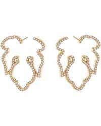 Nevernot Ready 2 Adorn Diamond Leaf Ear - Metallic