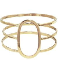 Melissa Joy Manning - Three Band Oval Ring - Lyst