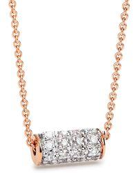 Ginette NY - Mini Straw Diamond Necklace - Lyst