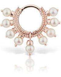 Maria Tash - Pearl Coronet Ring Single Earring - Lyst