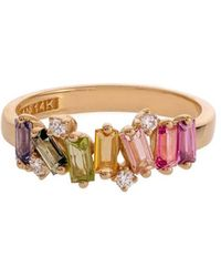 KALAN by Suzanne Kalan Rainbow Fireworks Ring - Multicolor