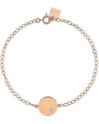 Ginette NY - Mini Ever Rectangle Bracelet - Lyst