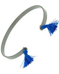 Ileana Makri - Grey Titan Cuff Bracelets - Lyst