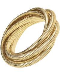 Janis Savitt - High Polished Six Cobra Bracelet - Lyst