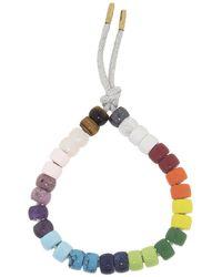 Carolina Bucci Forte Beads Rainbow Moon Bracelet Kit - Multicolor