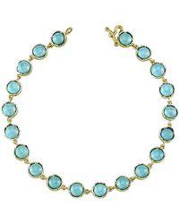 Irene Neuwirth Cabochon Turquoise Bracelet - Blue
