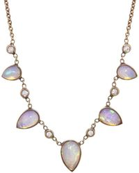 Jacquie Aiche - Five Graduated Opal Necklace - Lyst