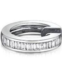 Borgioni - Baguette Diamond Single Earring - Lyst