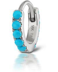 Maria Tash - Turquoise Eternity Ring Single Earring - Lyst