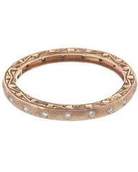 Sethi Couture - Brushed Diamond Ring - Lyst