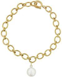 Irene Neuwirth Pearl Charm Bracelet - Metallic