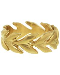 Cathy Waterman - Wheat Band Ring - Lyst
