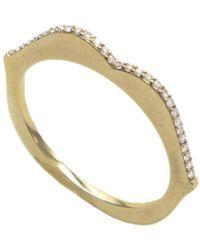 Raphaele Canot Diamond Omg Ring - Yellow