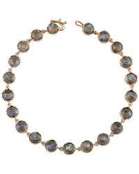 Irene Neuwirth Small Rose Cut Labradorite Bracelet - Metallic