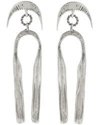 Ariana Boussard-Reifel Zobide Sterling Silver Earrings - Metallic