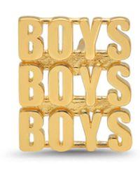 Established Boys Boys Boys Single Stud Earring - Metallic