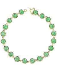 Irene Neuwirth Rose Cut Chrysoprase Bracelet - Green