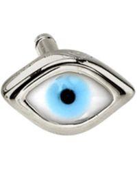Sydney Evan - Mini Enamel Evil Eye Single Stud Earring - Lyst