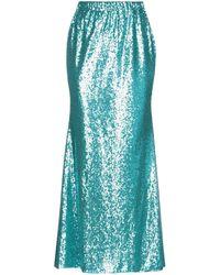 P.A.R.O.S.H. Long Skirt - Blue