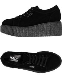 Karl Lagerfeld Lace-up Shoe - Black