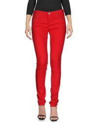 Armani Jeans Denim Pants - Red