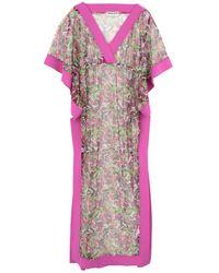 La Petite Robe Di Chiara Boni Long Dress - Purple