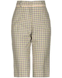 N°21 3/4-length Short - Yellow