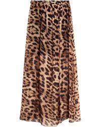 Odi Et Amo Long Skirt - Brown