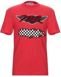 McQ Red Cotton T-shirt