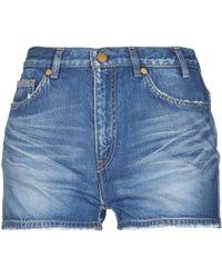Jil Sander Denim Shorts - Blue