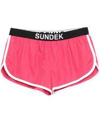 Sundek Shorts & Bermuda Shorts - Pink