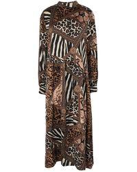 NA-KD 3/4 Length Dress - Black